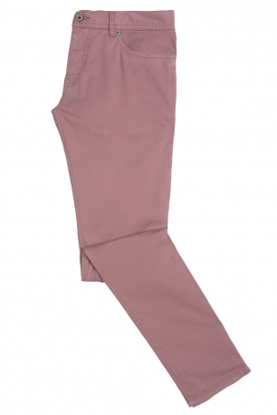 Slim Roses ashes Plain Trouser