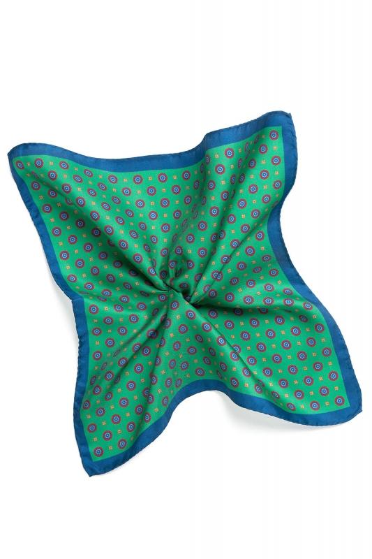 Green Pocket square