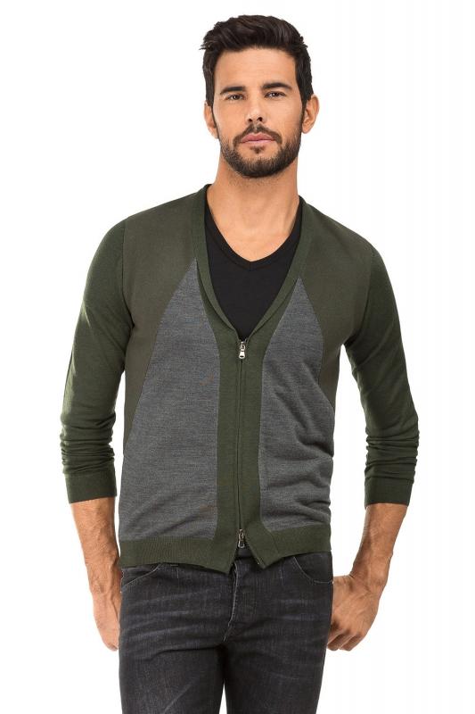 Slim Green Sweater