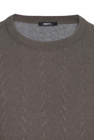 Slim Grey Sweater