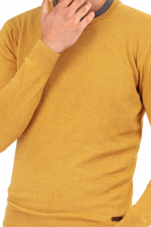 Slim Yellow Sweater