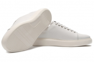White Genuine leather Shoes