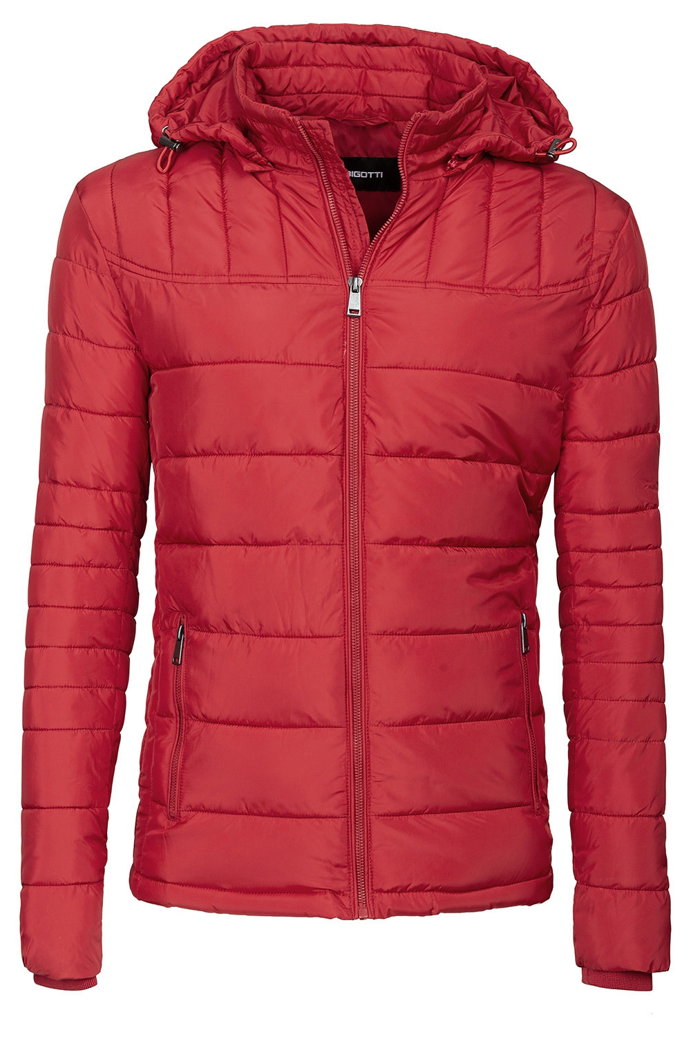 Red Plain Jacket 1