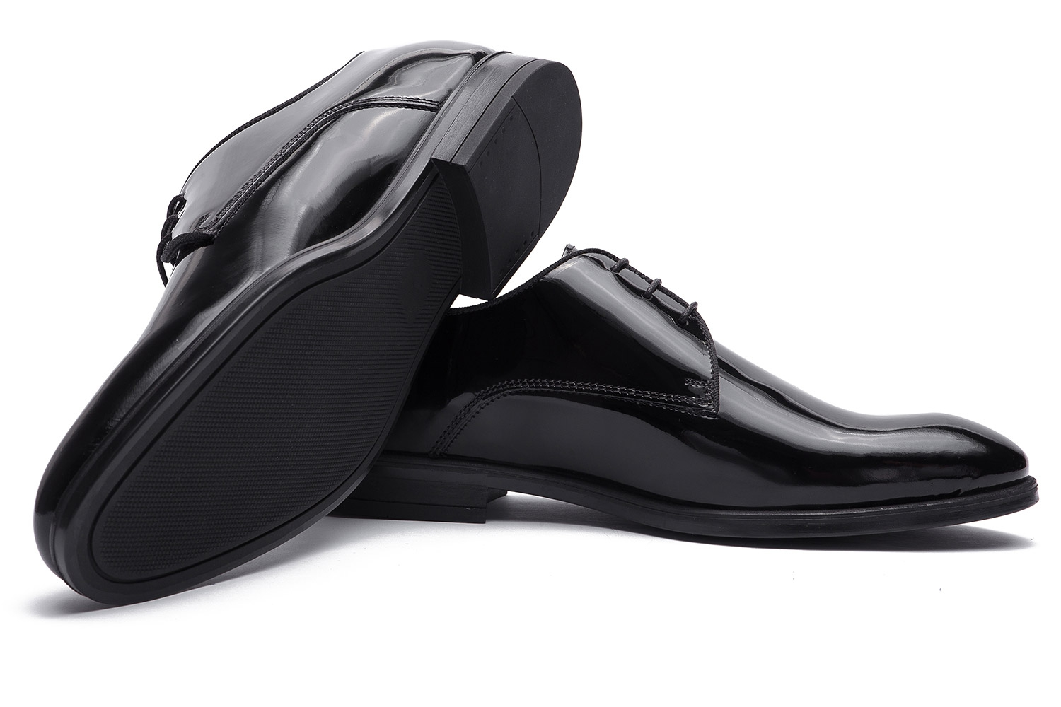 Black Genuine leather Shoes 1