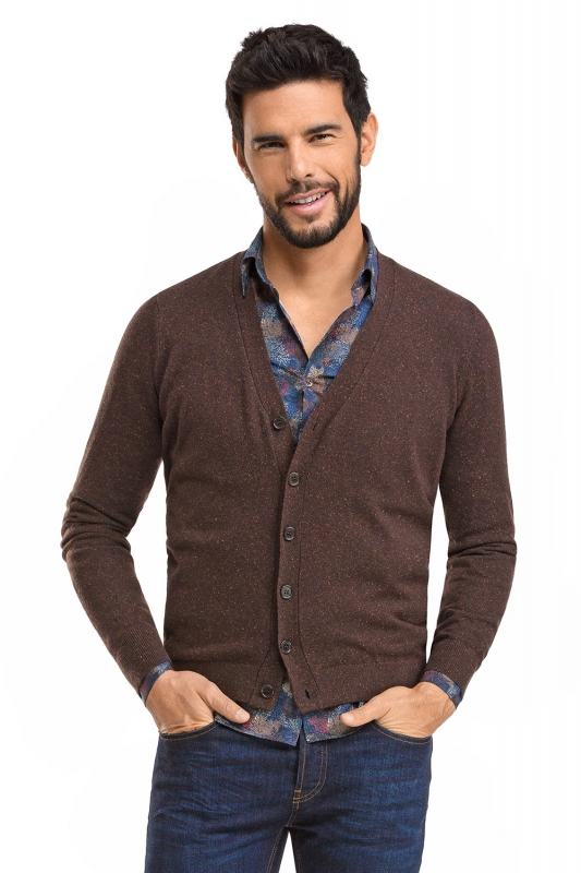 Slim Brown Sweater