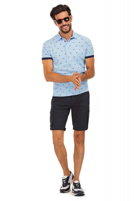 Navy Plain Trouser