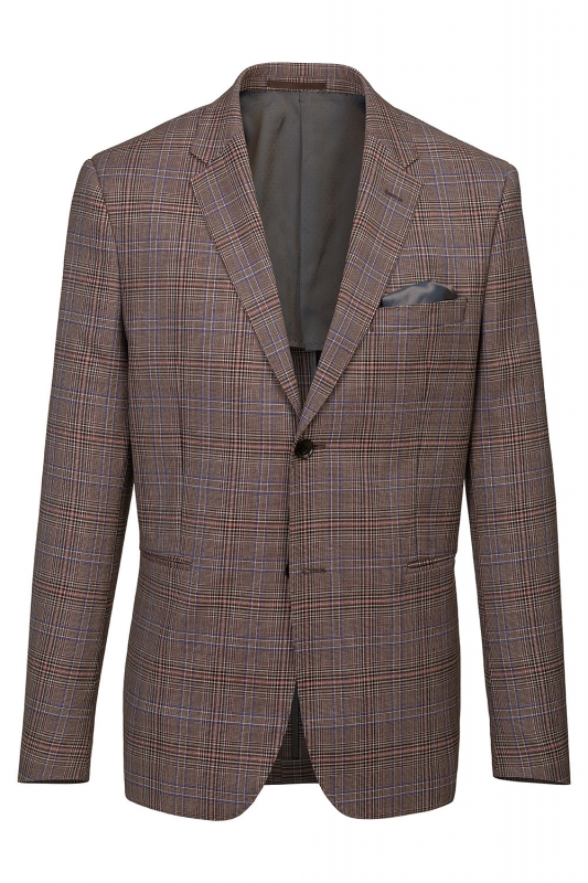 Slim body Brown Carouri Blazer