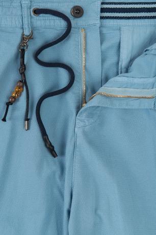 Confort(baggy) Light blue Plain Trouser