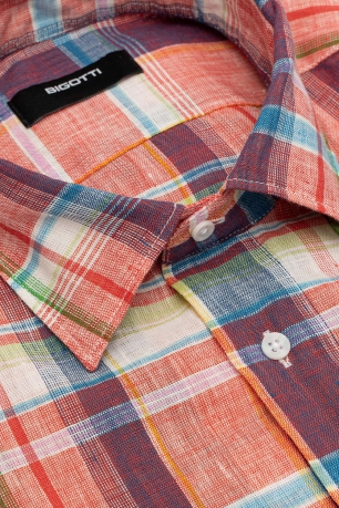 Shaped Multi-colored Carouri Shirt
