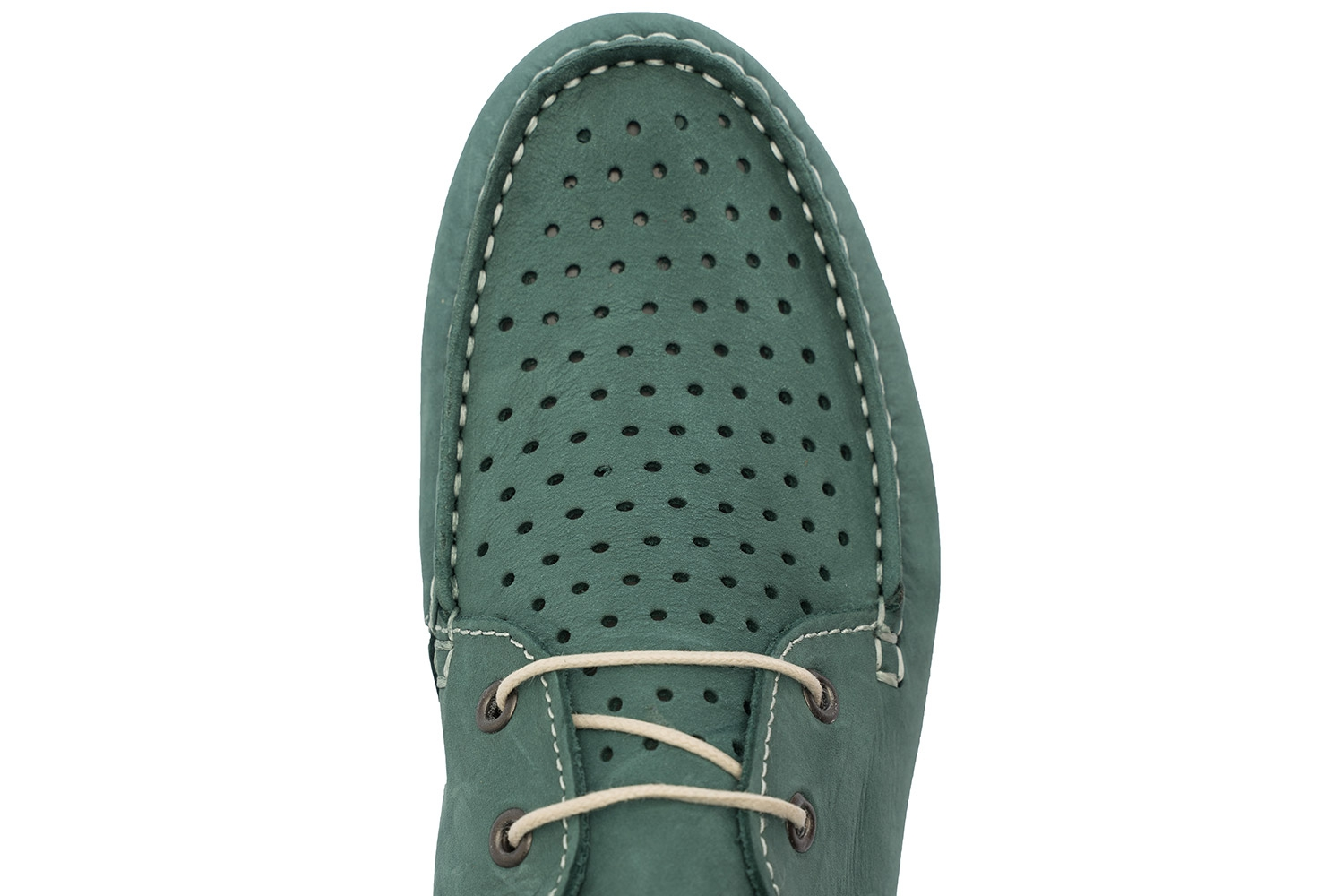 Green Nubuck leather Shoes 3