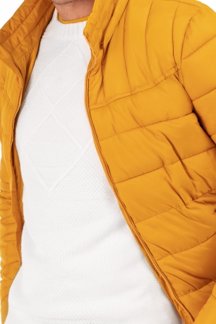 Yellow Plain Jacket