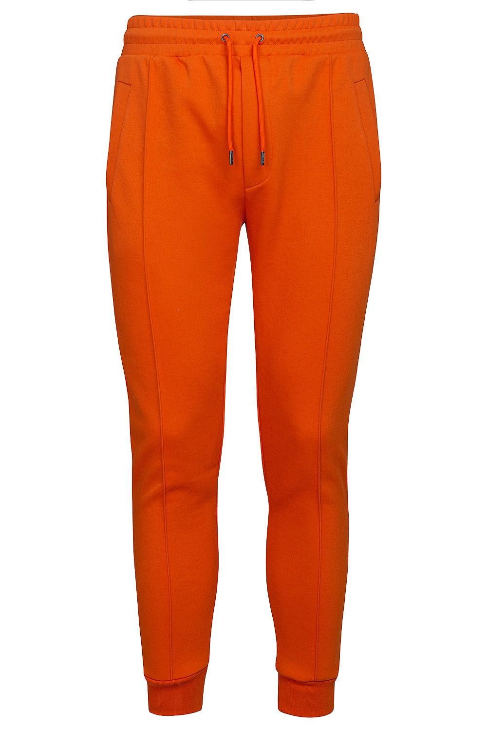 Slim body Orange Plain Trouser 0