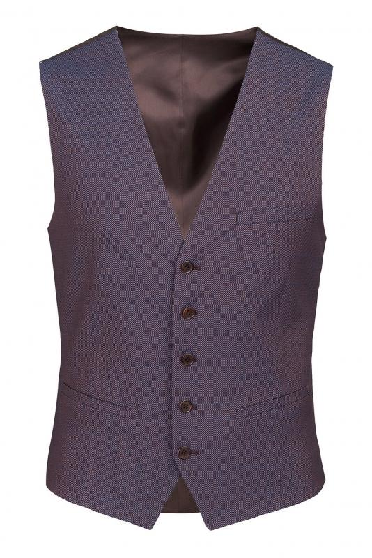 Purple Plain Waistcoat