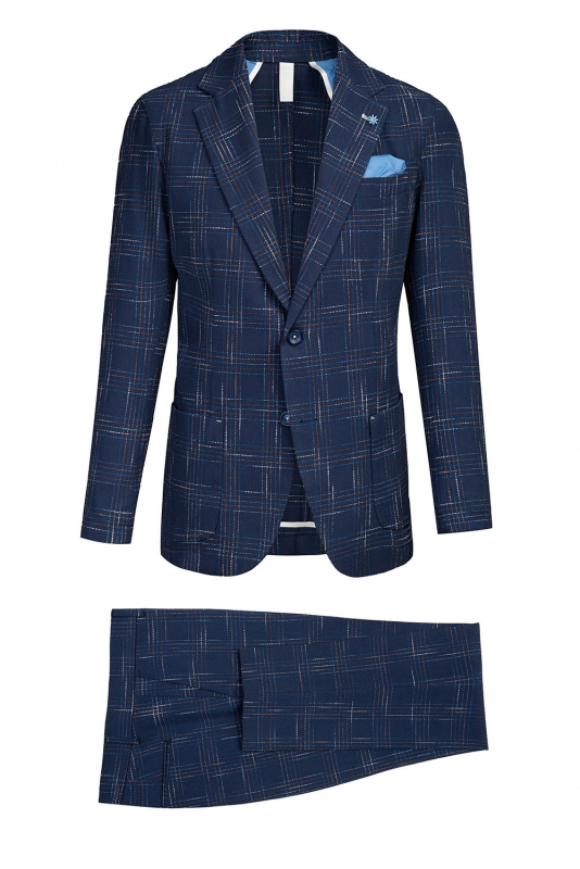 Blue Carouri Suit