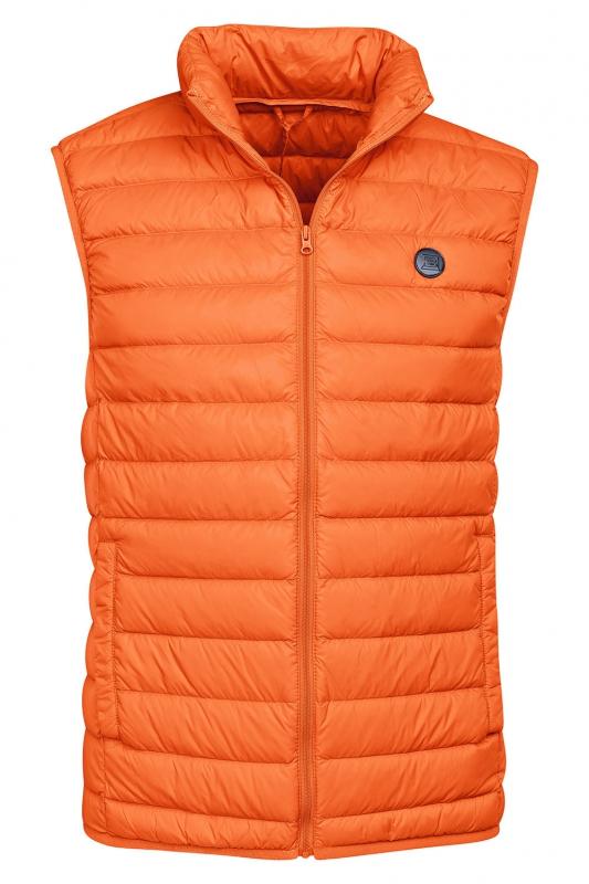 Slim body Orange Plain Waistcoat