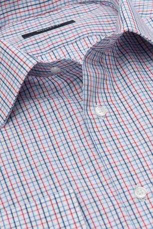 Shaped White Carouri Shirt