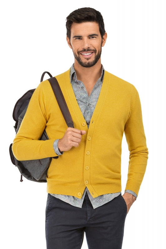 Slim Yellow Sweater