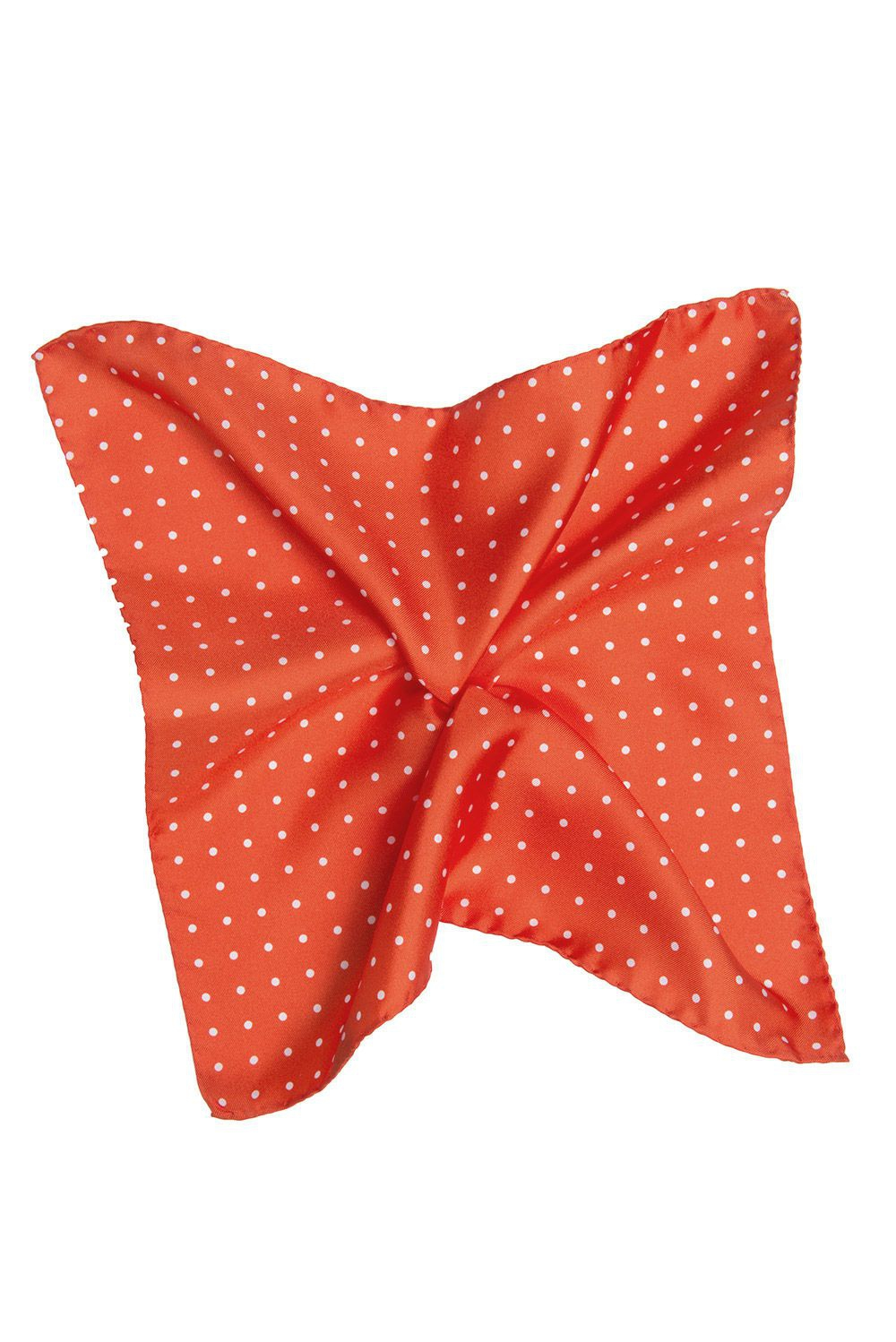 Orange Pocket square 0