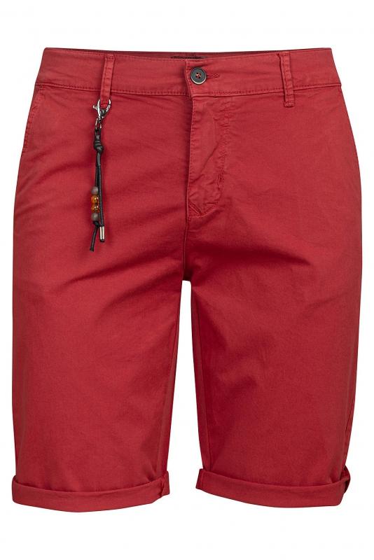 Slim body Burgundy Geometric Trouser
