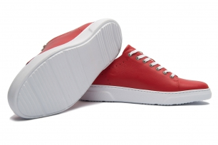 Red Genuine leather Shoes