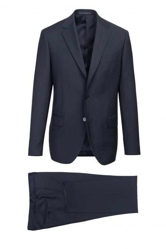 Slim body Navy Plain Suit