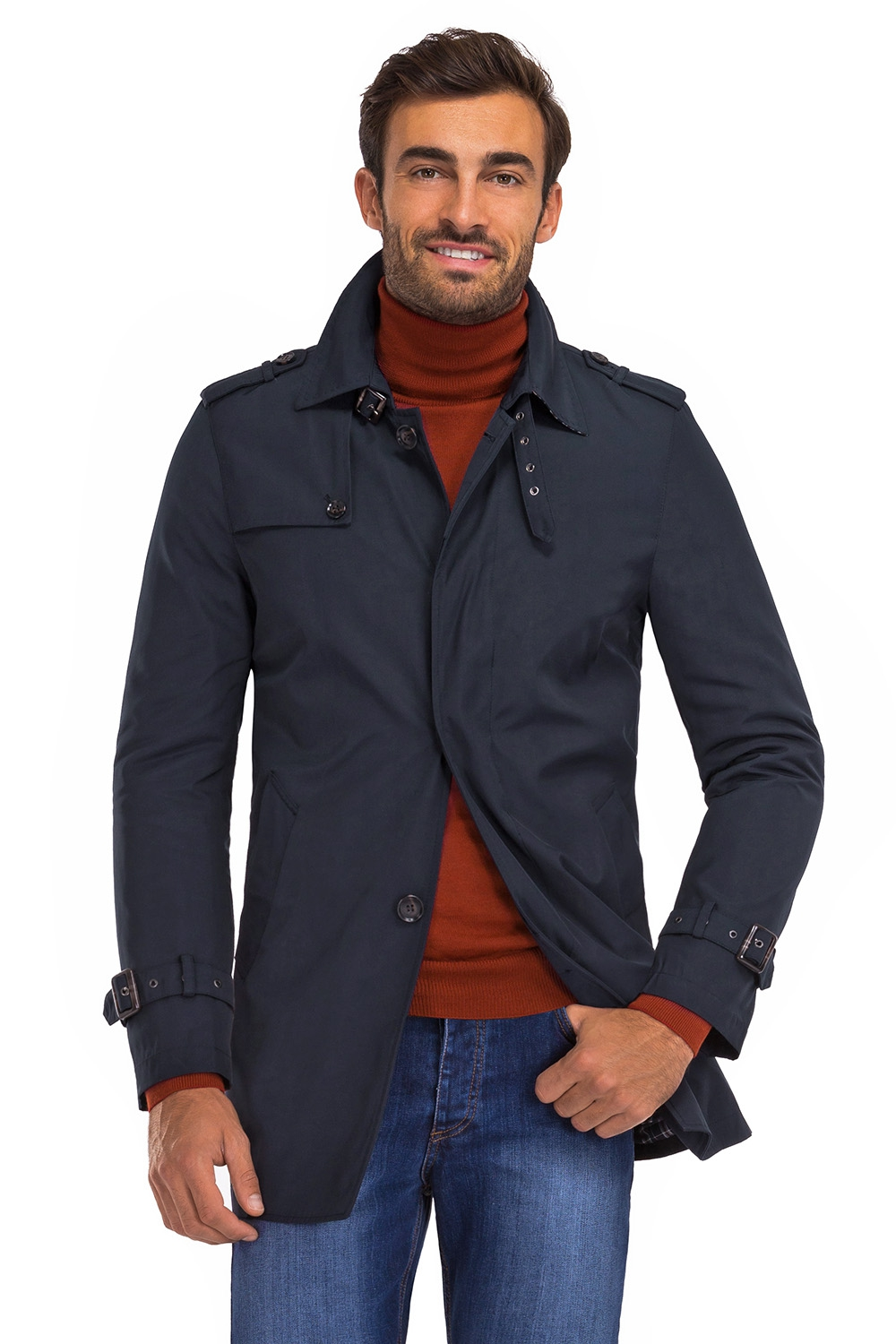 Navy Plain Jacket 0
