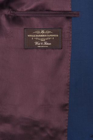 Slim Blue Plain Suit