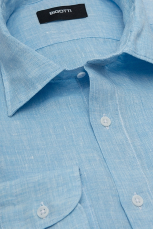 Slim Light blue Uni Shirt