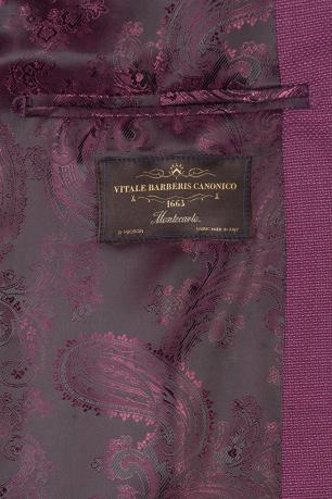 Slim body Purple Plain Blazer