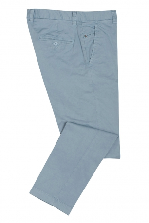 Slim Light blue Trouser
