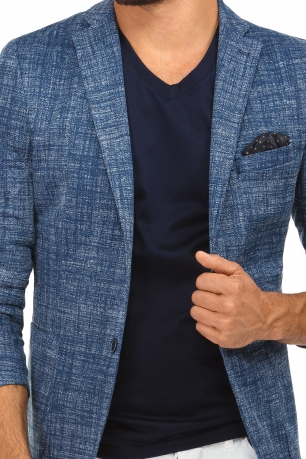 Navy Plain Blazer
