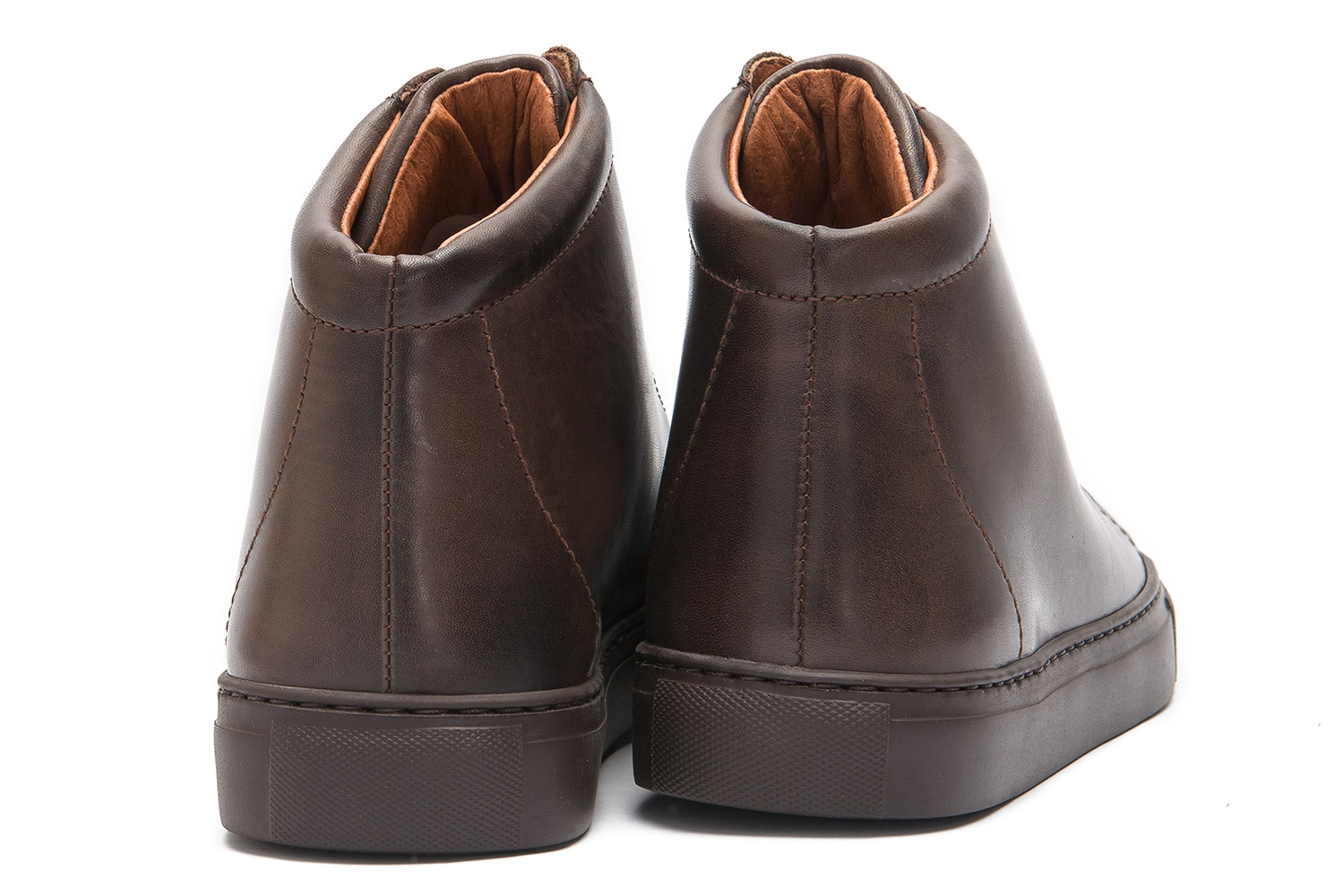 Brown Genuine leather Shoes 2