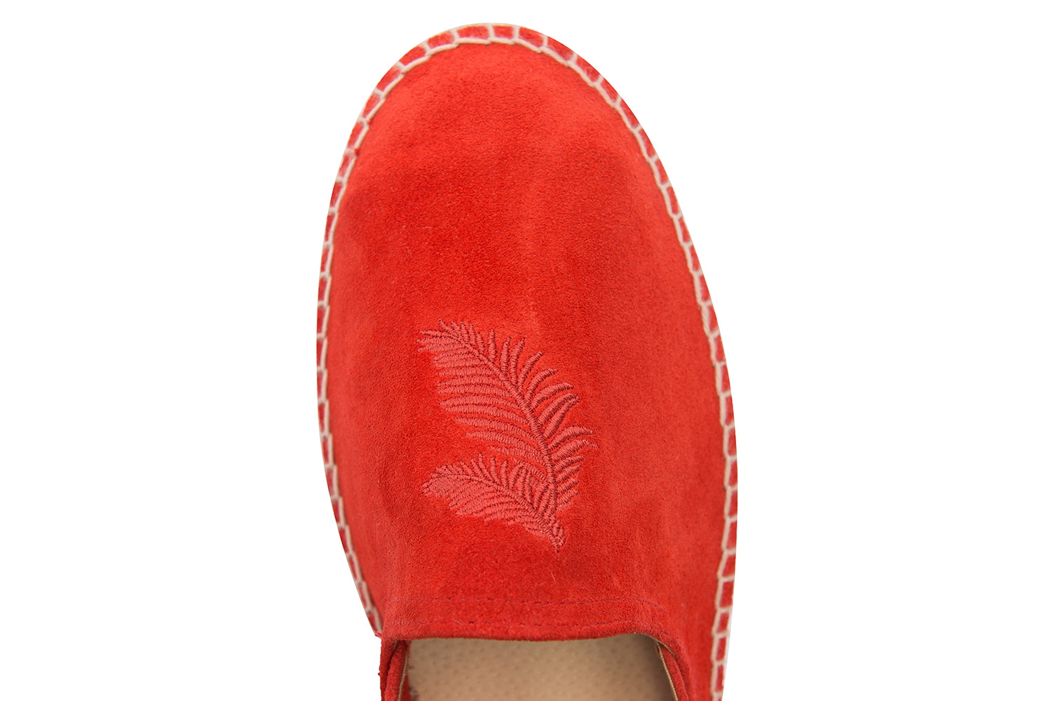 Orange Suede leather Shoes 3