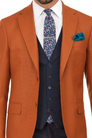 Navy Plain Waistcoat