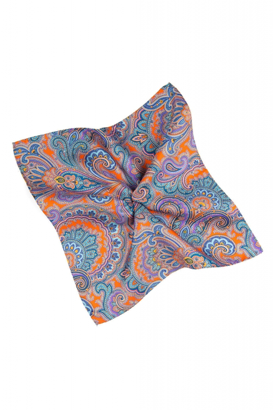 Light blue Pocket square