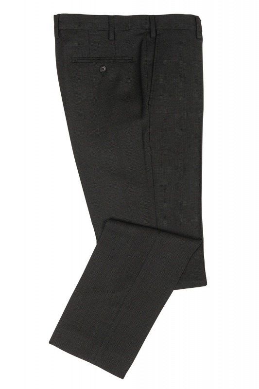 Superslim Grey Plain Trouser