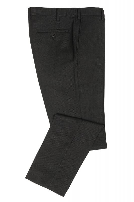 Superslim Grey Plain Trouser