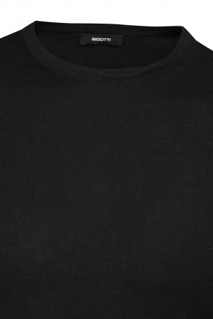 Regular Black Sweater