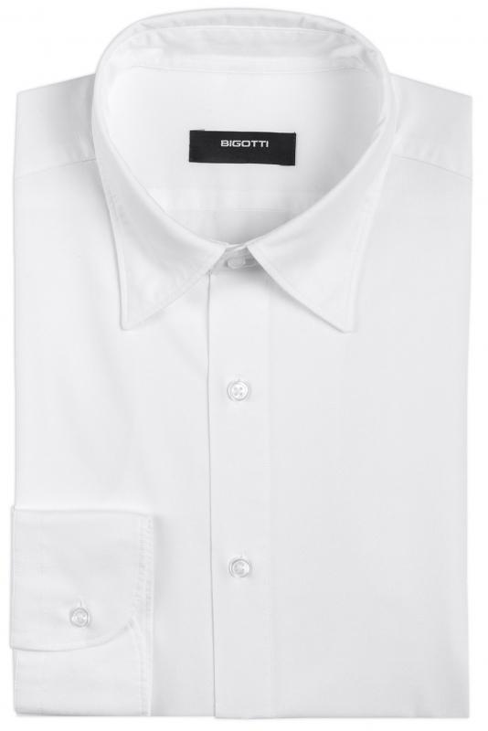 Slim White Oxford Shirt