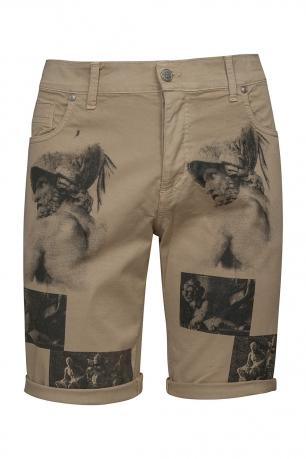 Slim Beige Trouser