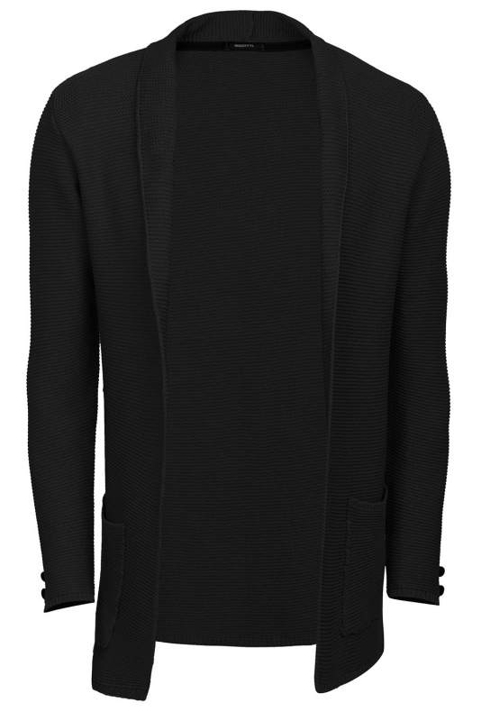 Slim Black Sweater