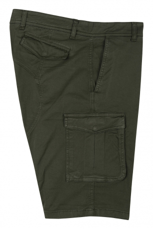 Green Plain Trouser