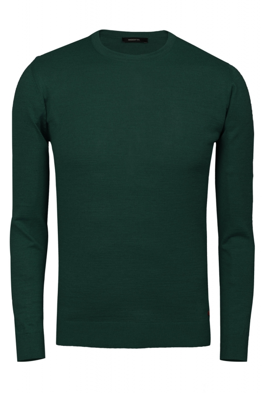 Slim Green Sweater