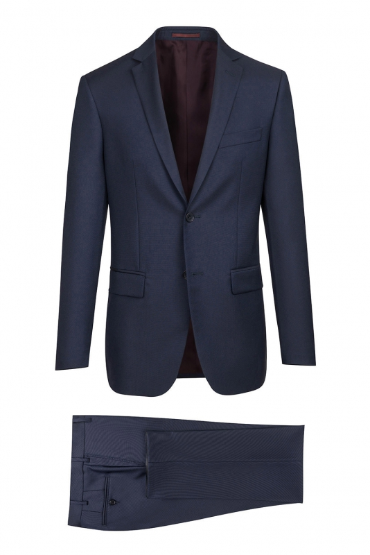 Superslim Navy Plain Suit