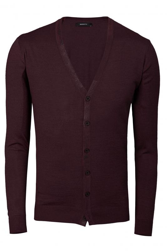 regular burgundy sweater