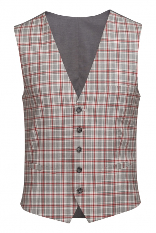 With buttons Waistcoat