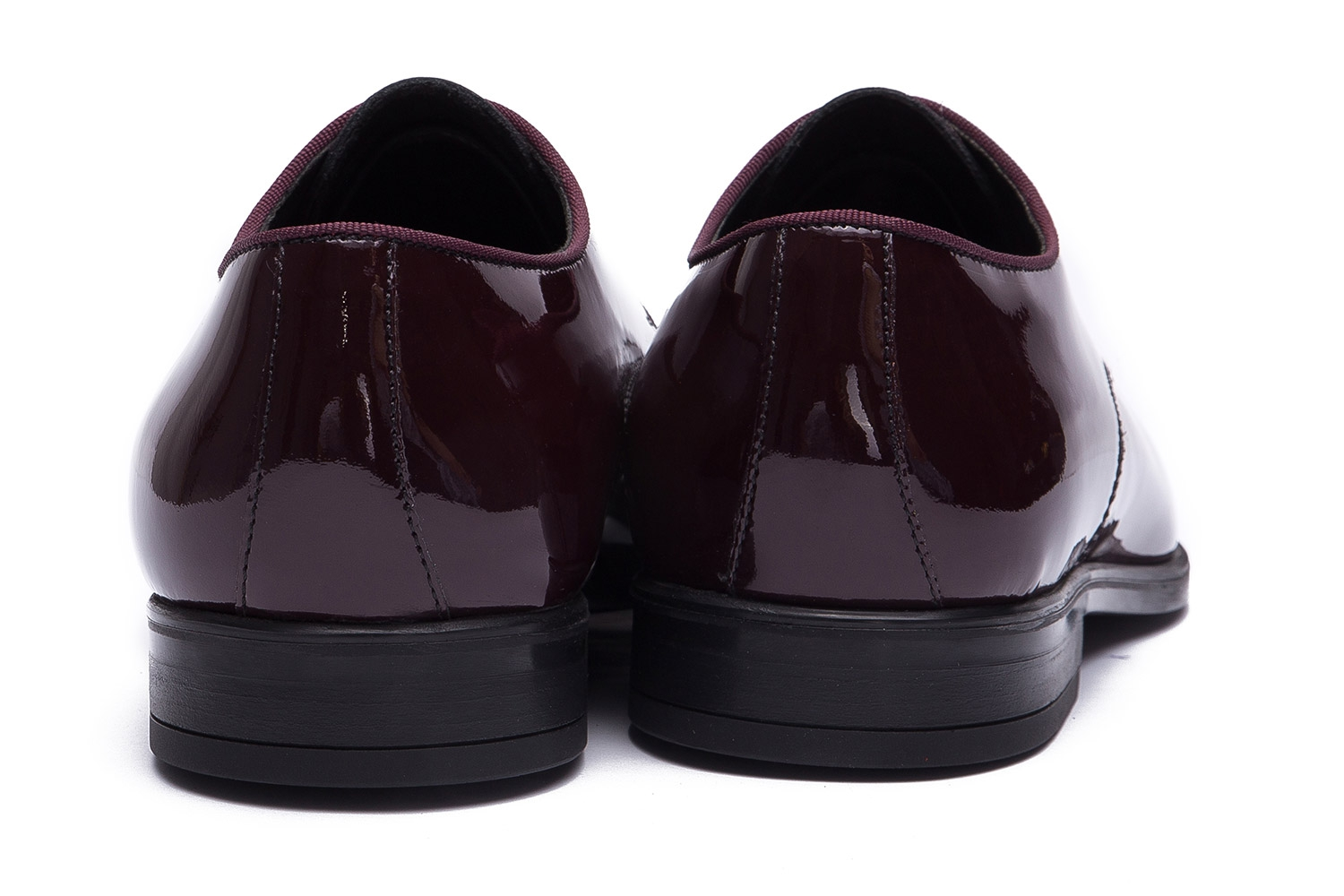 Burgundy Genuine leather Shoes 2