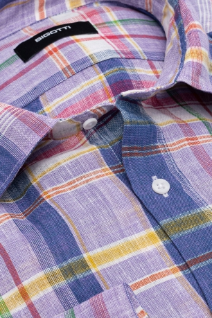 Slim body Multi-colored Carouri Shirt