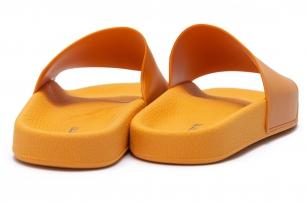 Portocaliu Pvc Flip-flops