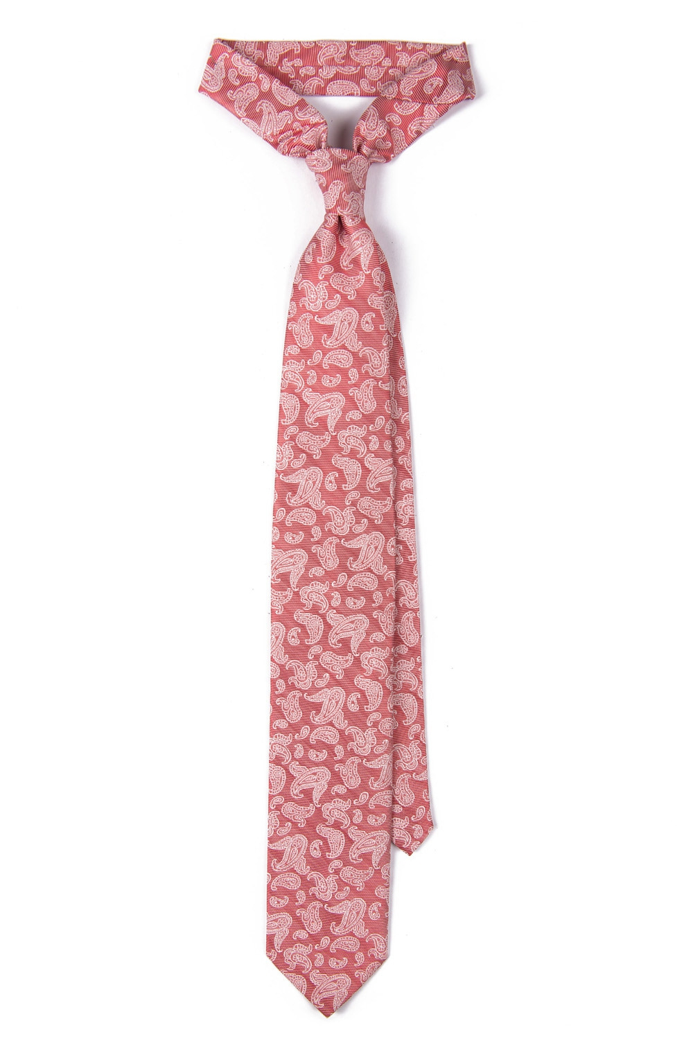 Red Floral Tie 0